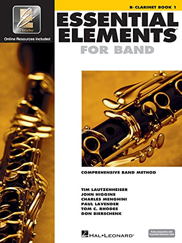 Essential Elements 2000: Comprehensive Band Method: B Flat Clarinet Book 1 ()