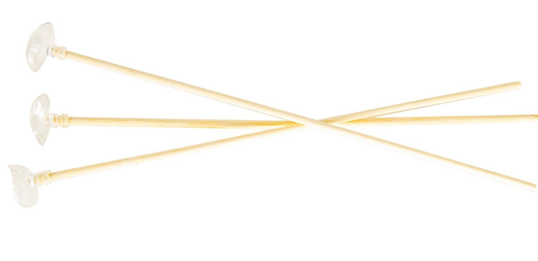 Nick and Ben Pfeil 3 Stück 32cm Echt-Holz Natur-Holz Holz Handarbeit für Jugend-Bogen Flitze-Bogen Kinder-Bogen Bogen bis 80 cm Armbrust Reiter-Bogen Lang-Bogen