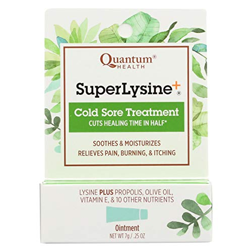 Quantum Super Lysine Plus Cold Sore Treatment -- 0.25 oz