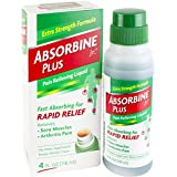 Absorbine Jr Pain Relieving Liquid, 4 Ounce