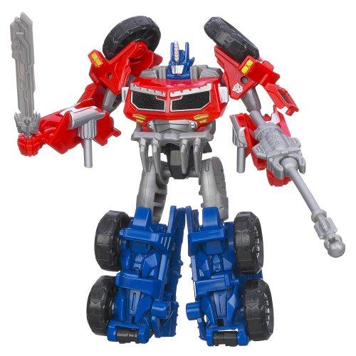 Transformers Prime Beast Hunters Commander Class Optimus Autobot Leader Figure (Transformers Prime Beast Hunters Optimus Prime Toy)