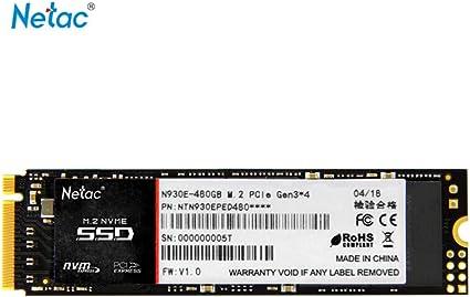 Grborn Netac N930E Disco SSD Flash de Alta Velocidad Disco Duro ...