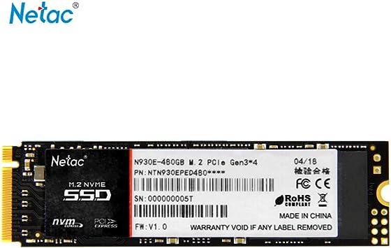 Grborn Netac N930E Disco SSD Flash de Alta Velocidad Disco ...