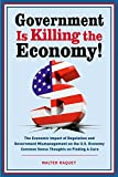 Government is Killing the Economy: The Economic Impact of Regulation and Government Mismanagement on the U.S. Economy – Common Sense Thoughts on Finding A Cure