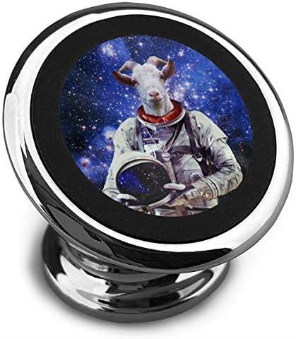 羊の宇宙飛行士 携帯電話ホルダー おしゃれ 車載ホルダー 人気 磁気ホルダー 大きな吸引力 サポートフレーム 落下防止 360度回転