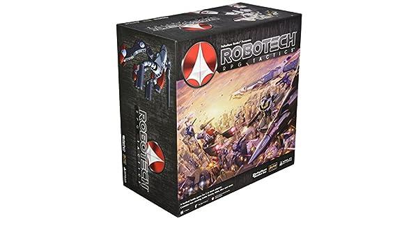 Robotech RPG Tactics Starter Board Game: Amazon.es: Juguetes ...