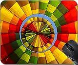vent balloon - MSD Mousepad Mouse Pads/Mat design 20342903 Inside of a collourful hot air balloon