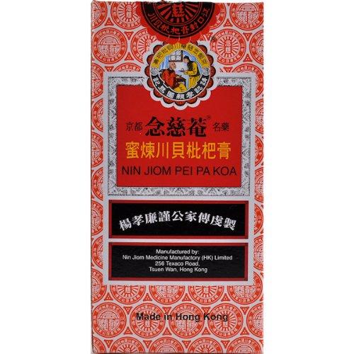 Nin Jiom Natural Herbs & Loquat & Honey Extract, Pei Pa Kräutersirup 300ml - Hustensaft