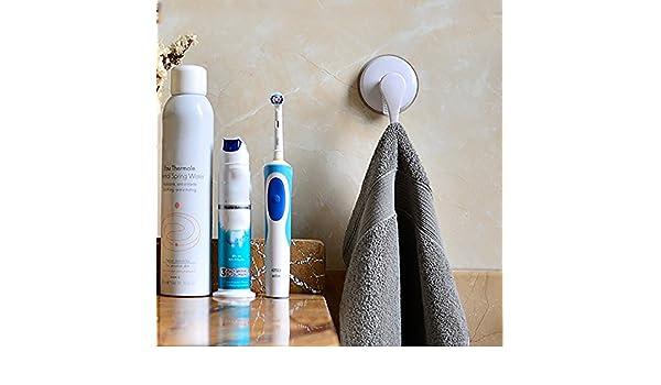 Rifuli® - Gancho Adhesivo para Toallas, con Ventosa Fuerte ...