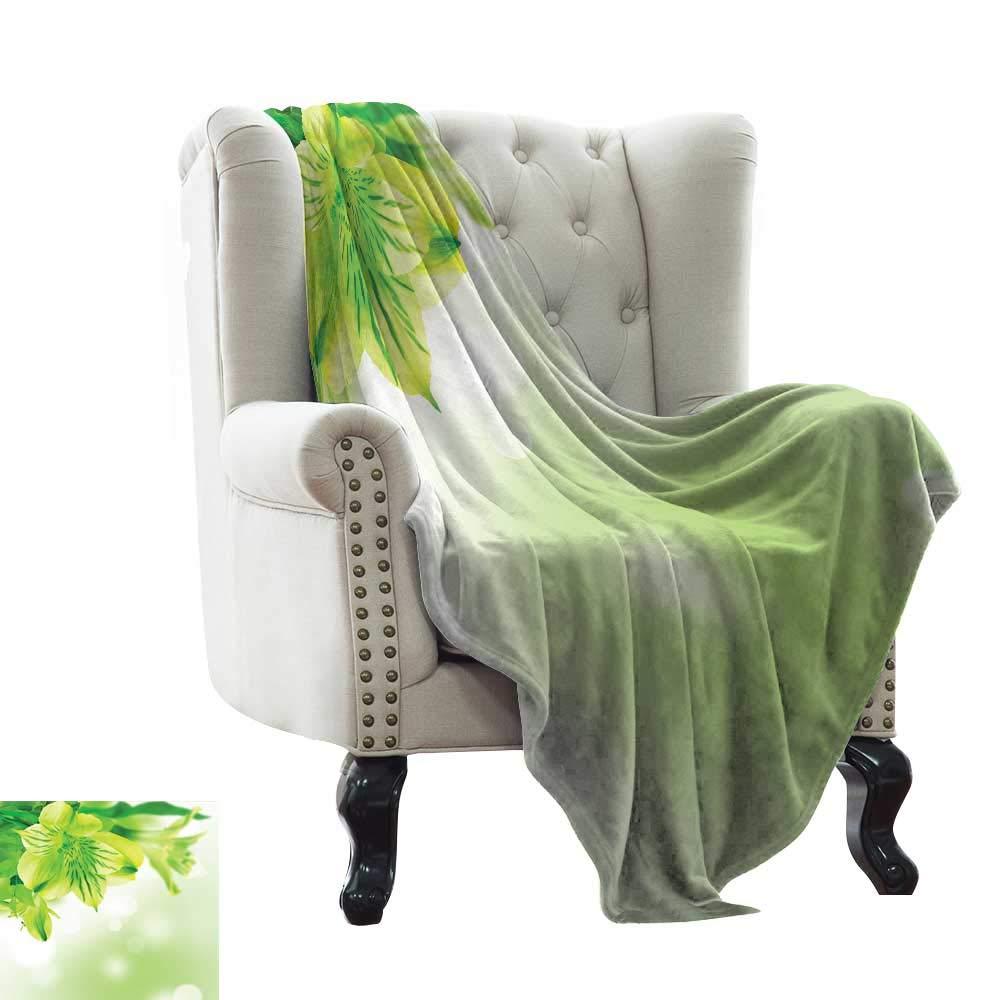 RenteriaDecor 寝室用暖かい毛布 幾何学模様 イランとオットマンのモチーフ ペールカラー ヴィンテージのアンセストラル装飾パターン スカイブルーグレーホワイト 大人用の柔らかいブランケット 90
