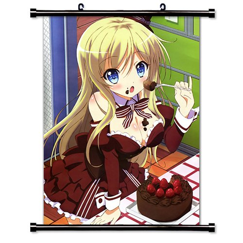 My Mental Choices are Completely Interfering with my School Romantic Comedy (NouCome) Anime Fabric Wall Scroll Poster (16x23) Inches. [WP] My Mental Choices-5
