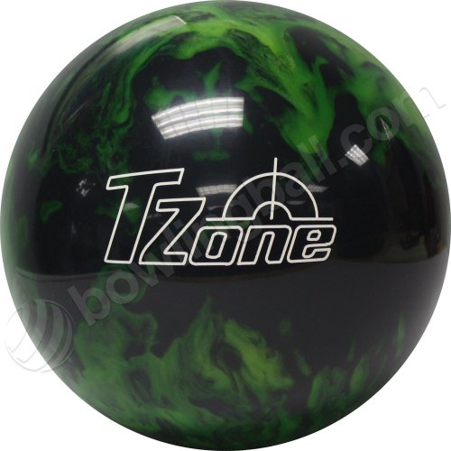 Brunswick TZone Green Envy Bowling Ball (10-Pounds)