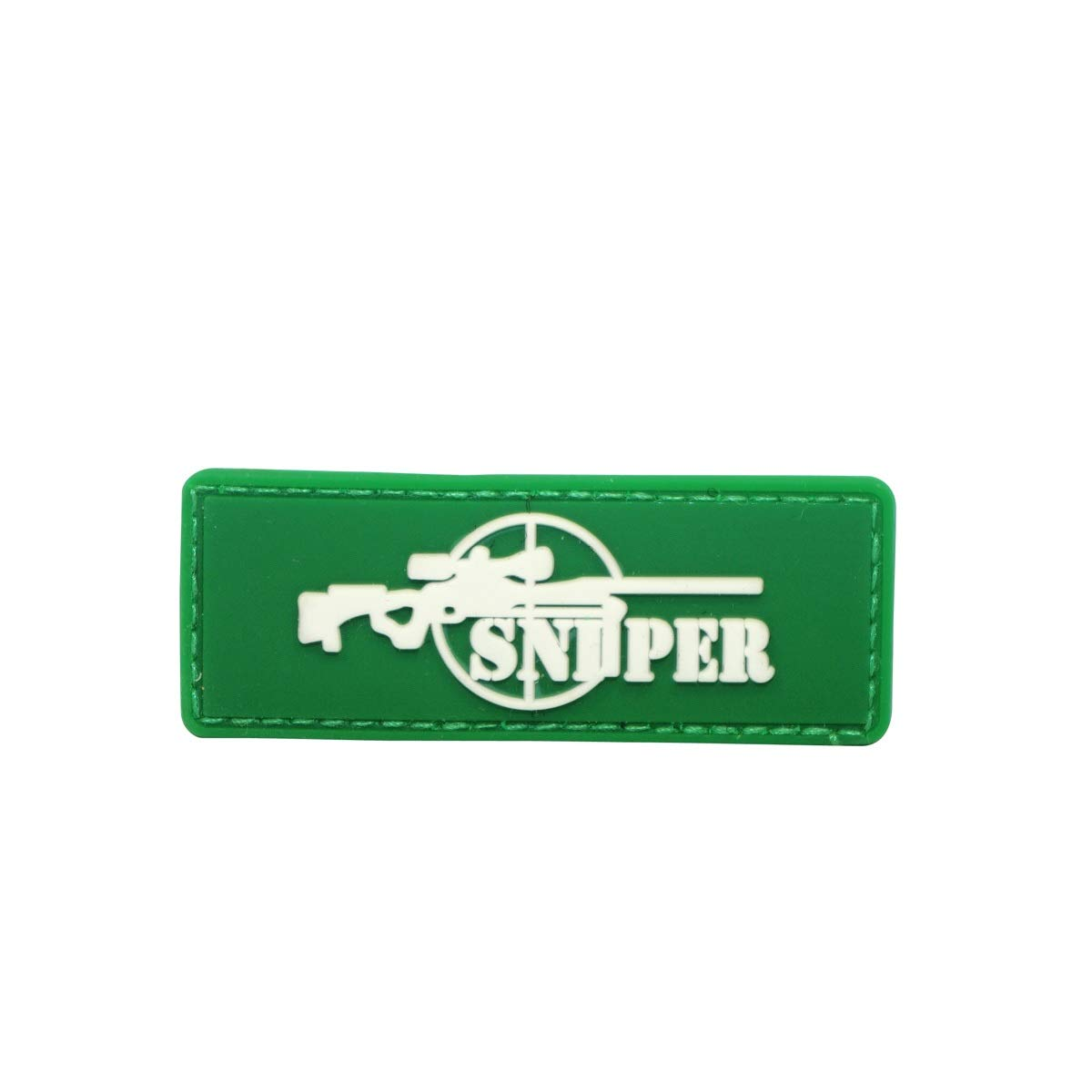 Cobra Tactical Solutions PVC Toppa Patch Sniper Green Cosplay/Airsoft / Paintball