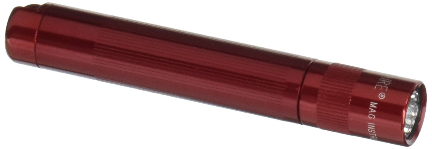 MagLite K3A032M Solitaire Flashlight, , Red
