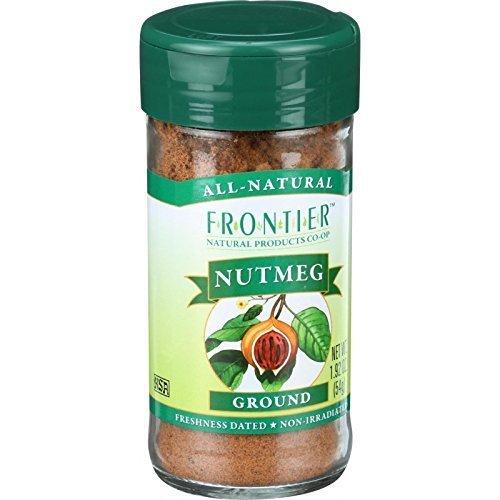 Frontier Ground Nutmeg -- 1.92 oz ( Multi-Pack)