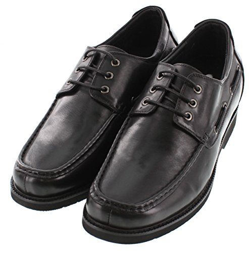 Taller 8 Height Increasing Shoes G5801 Inches CALTO Shoes Black Elevator Casual 2 wRZFyx