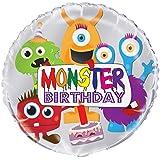 Unique Party Supplies 45,7cm Folie Monster Geburtstag Ballon