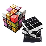 AK ART KITCHENWARE Magic Square Small Mousse Cake Rings Stainless Steel Baking Molds Pastry Tools Bakeware Candy Dessert Tools Chocolate & Sweet Molds Cake Decorating Tools