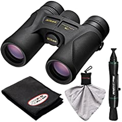 Kit includes:♦ 1) Nikon Prostaff 7S 10x42 ATB Waterproof/Fogproof Binoculars with Case♦ 2) Nikon LensPen Cleaning System♦ 3) Lenspen FogKlear Dry Anti-Fog Cleaning Cloth♦ 4) Precision Design Spudz Microfiber Cleaning Cloth (with Clip &...