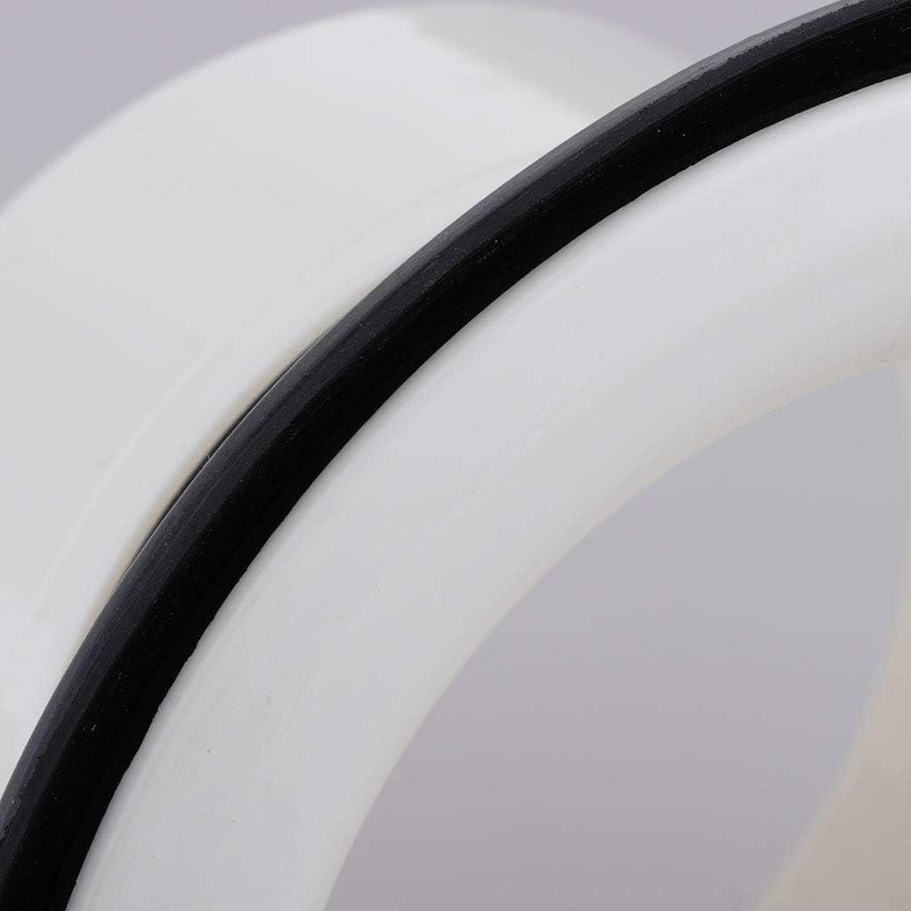 Solid ABS Plastic Drum Accessories Bass Drum Sound Enhancer Kick Drum Enhancer /& Ring