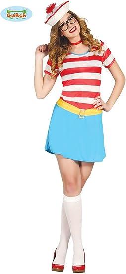 Disfraz de marinera aventurera mujer L: Amazon.es: Juguetes y juegos