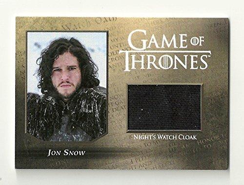 2016 Game of Thrones Season 5 Night Watch Relic Cards CC1 JON SNOW