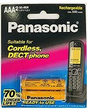 هاتف لاسلكي AAA بطارية باناسونيك