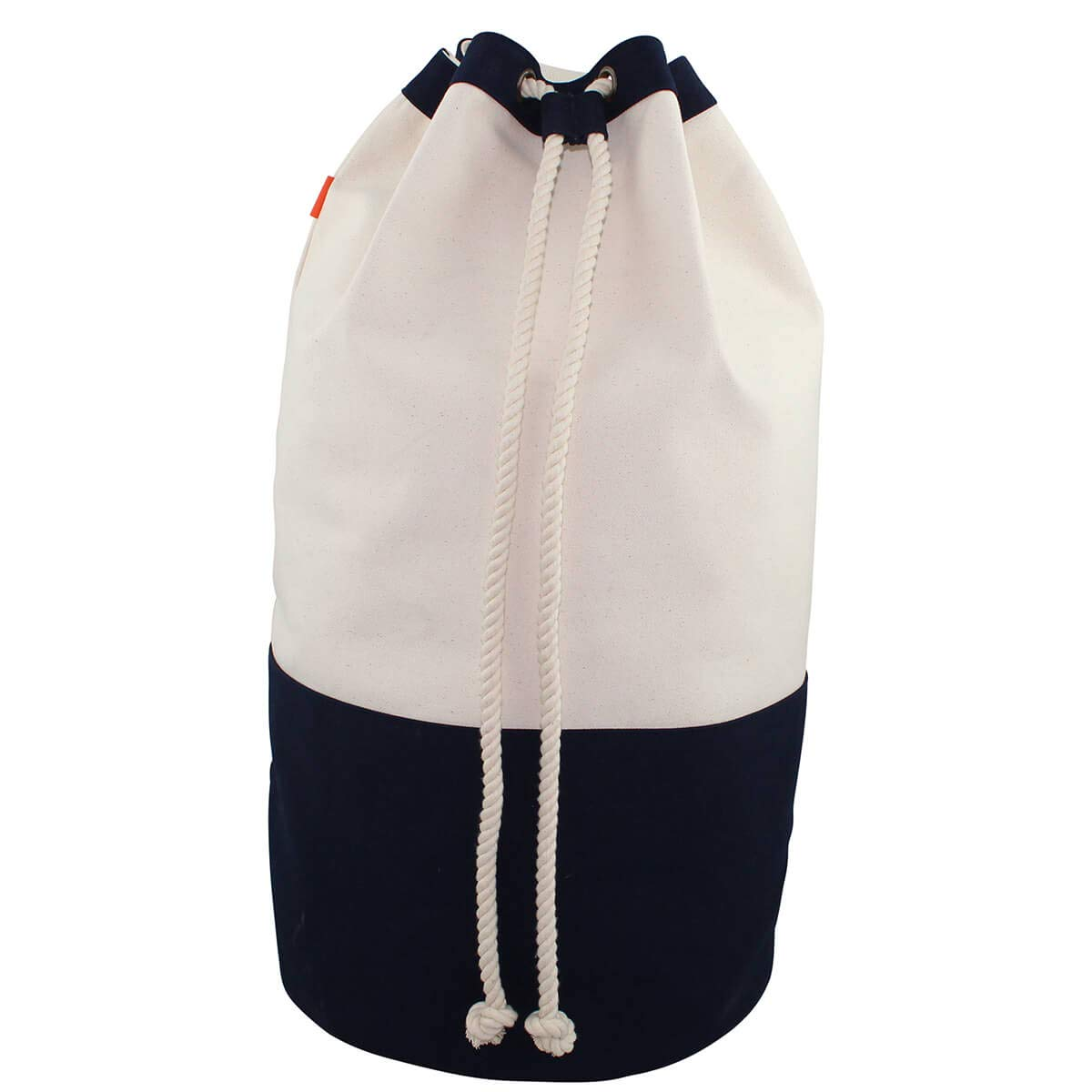 Navy Blue College Laundry Backpack and Hamper CB Station Laundry Duffel Bag and Durable 18 oz Cotton Canvas Eco-Friendly