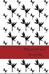 Meditation Journal: Bamboo Paperback