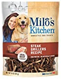Cheap Milo's Kitchen Steak Grillers Beef Recipe with Angus Steak Dog Treats, 18-Ounce