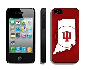 Diy Hard Shell Red Cover for Iphone 4 Hit Color Iphone 4s Case Mate for Guys Ncaa Team Logo