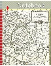 Notebook: 1770, Janvier Map of Hungary, Romania, Transylvania, Moldova, Croatia and Bosnia