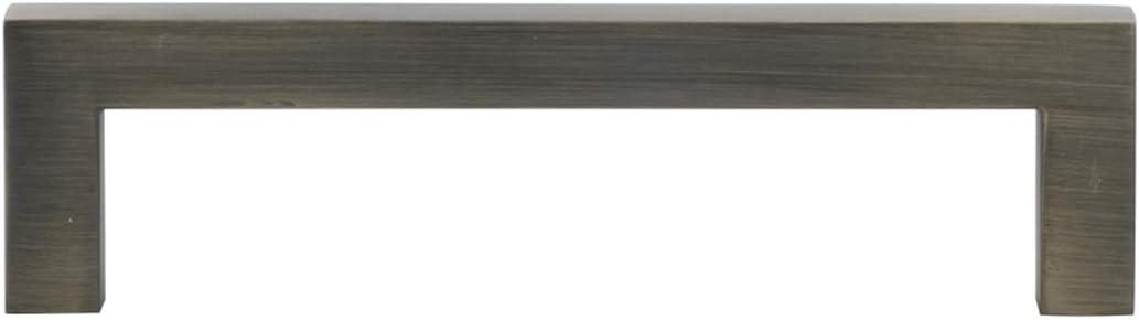 Basics AB3700-AB-10 Poign/ée pour placard Longueur 8,5 cm Laiton vieilli centre des trous 7,62 cm