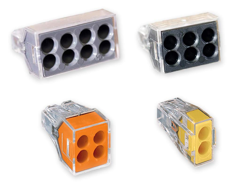 Wago 773 Push Wire Wall Nut Assortment Pack