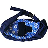Meteory Multifunction Baby Sling For New Born Front Baby Carrier Wrap Sling Breastfeeding Privacy Bag (Blue Sea)
