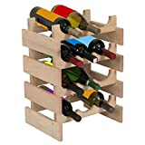 Wooden Mallet 15-Bottle Dakota Wine Rack, Mahogany Review