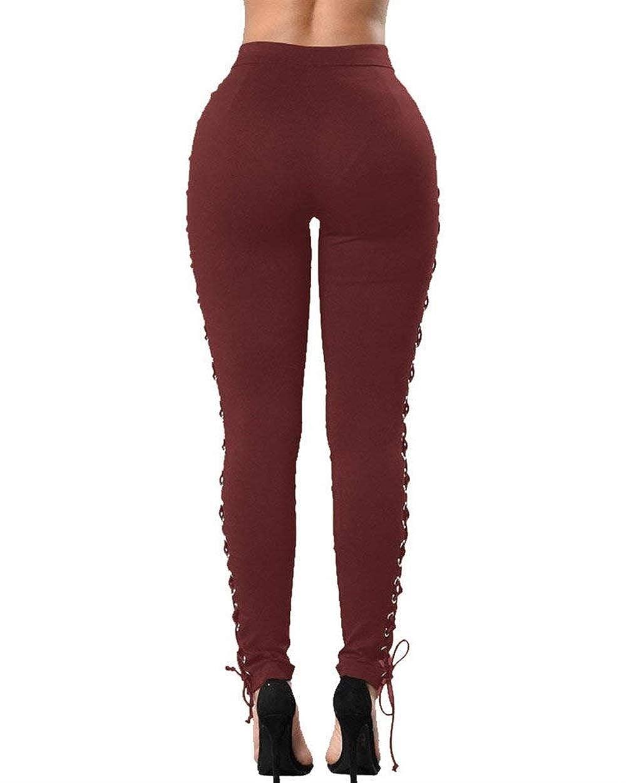 Pantalones Vaqueros De Mujer Metal De Correas Hebilla ...