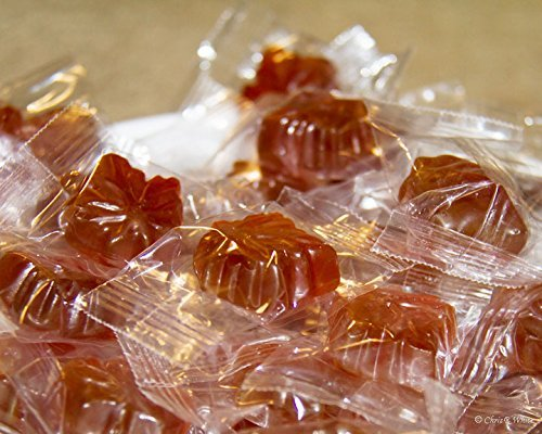 Mansfield Maple Maple Drops Hard Candy Made with Real Maple Syrup (5 Pound Cloth Bag) by Mount Mansfield Maple Products