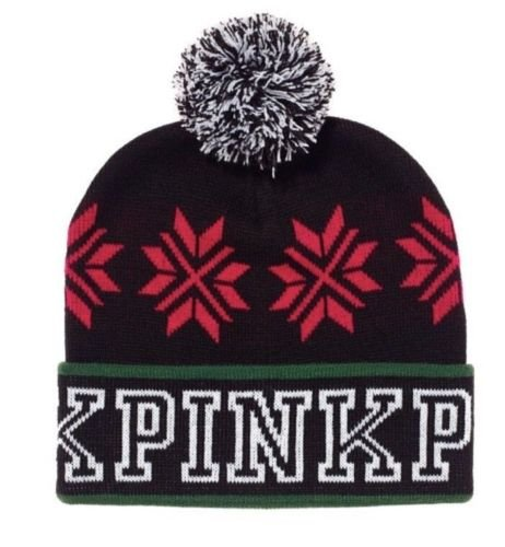nk Knit Beanie Black/Red ()