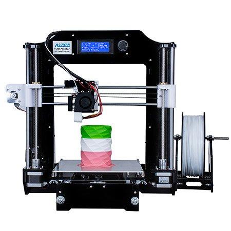 ALUNAR® Upgraded DIY Desktop 3D Printer Reprap Prusa i3 Kit