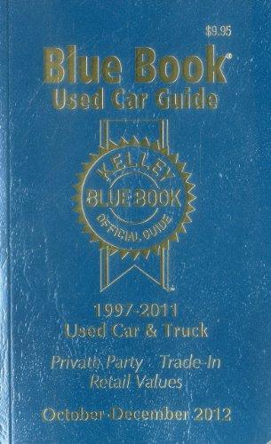Kelley Blue Book Used Car Guide: October-December 2012 -  Paperback
