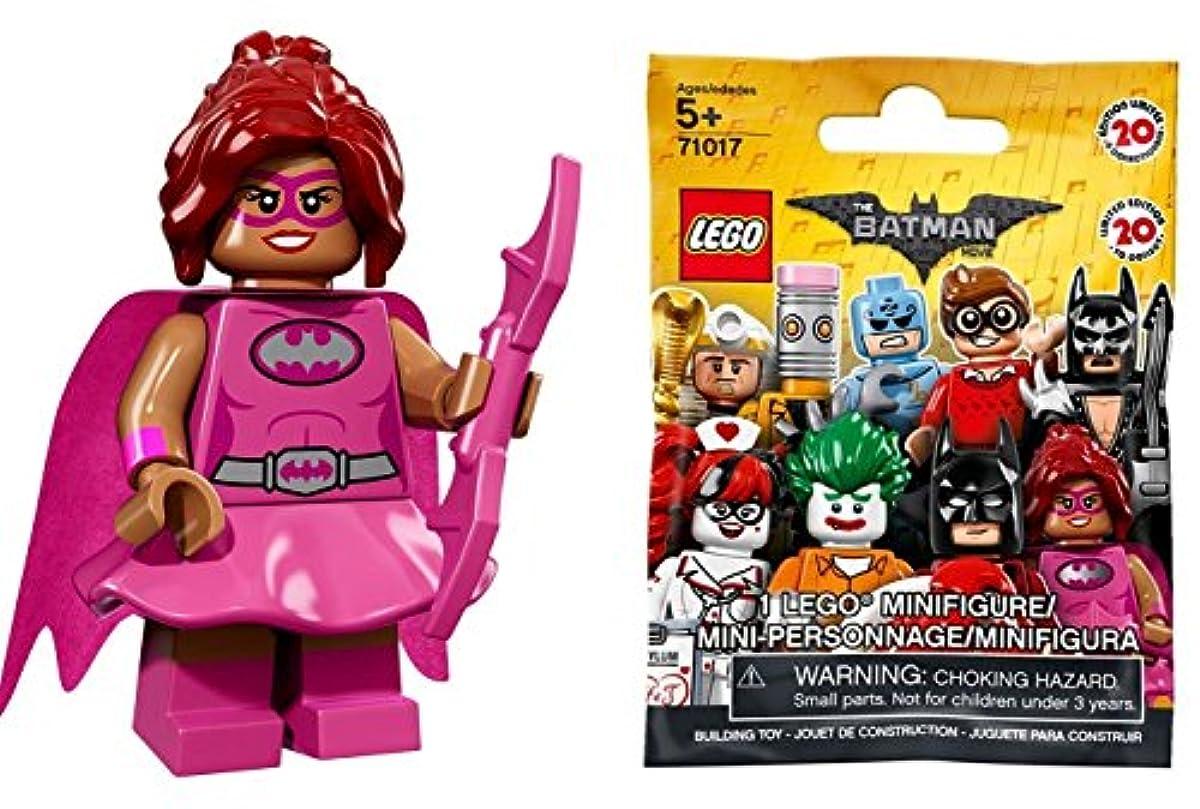 [해외] 레고 배트맨 더무비 미니 피규어 시리즈 핑크파워배트 걸(미개봉품)|THE LEGO BATMAN MOVIE MINIFIGURES SERIES PINK POWER BATGIRL 【71017-10】