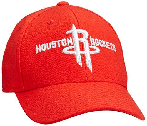NBA Houston Rockets Men's Structured Flex Cap, Giant/X-Giant, Red – DiZiSports Store