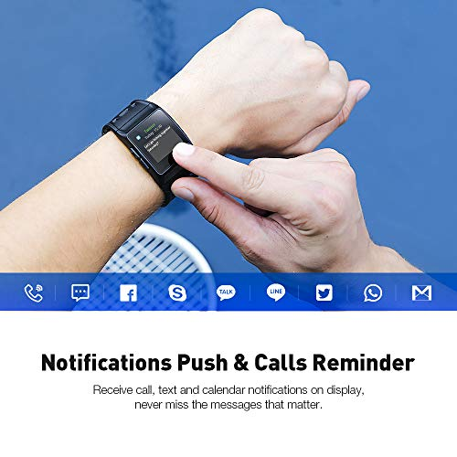 GPS Running Watch, Smart Watch Fatigue Analysis Heart Rate/Sleeping/ECG Monitor IP68 Waterproof Fitness Tracker with Multi-Sports Mode Message Notifications Color Touch Screen For Android and IOS by DR.VIVA (Image #6)