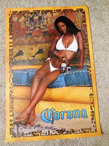 Corona Promo Pinup Poster ORIGINAL PRINT