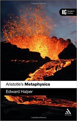 Book Aristotle's 'Metaphysics': A Reader's Guide (Reader's Guides) by Edward Halper (2012-07-26)