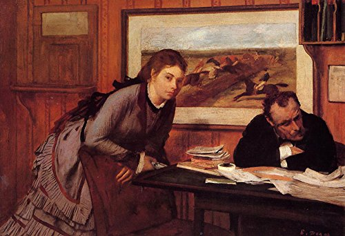 Edgar Degas - Sulking - Metropolitan Museum of Art - New York, NY 30