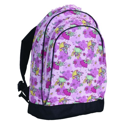 Wildkin 15 Inch Backpack, Extra Durable Backpack with Padded Straps and Interior Moisture-Resistant Lining, Perfect for School or Travel – Fairies by Wildkin (Image #1)