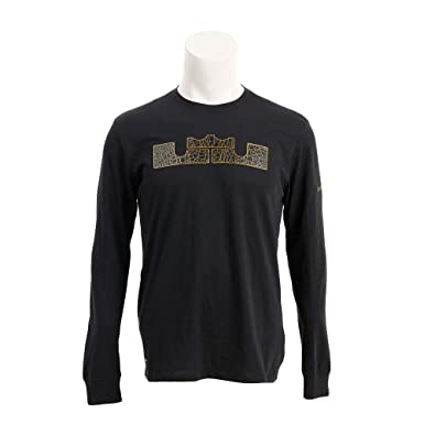 dc8f88c4 Nike Mens Dry LBJ Strongest Long Sleeve Graphic Tee (Black, Large) at  Amazon Men's Clothing store: