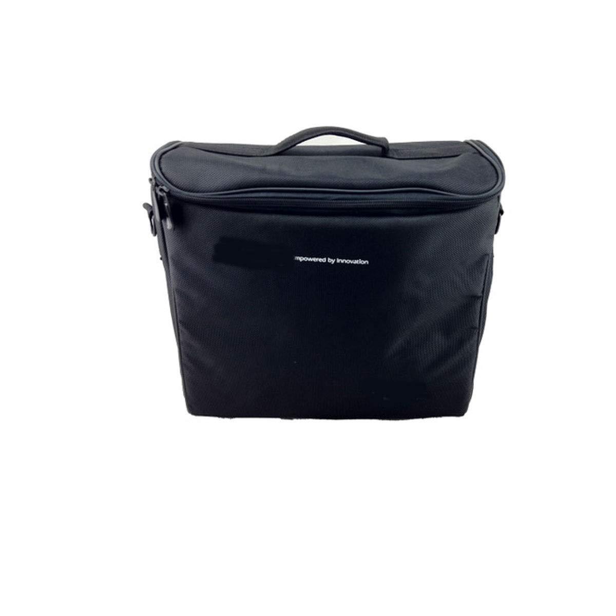 Huijunwenti Accessories Organizer,Carry case for Projector, Universal Portable Bag (Color : Black)